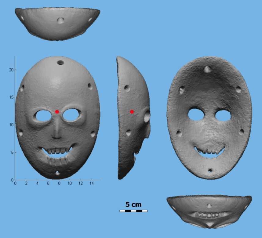 Computer technology for the archaeological analysis of Scanned and digitized artifacts in 3D