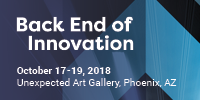 Back End of Innovation 2018